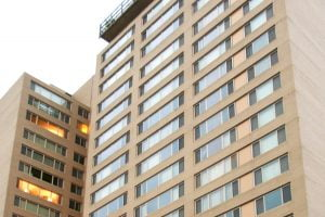 Horizon House Apartments in Baltimore, Maryland with windows completed by Acadia Windows & Doors.