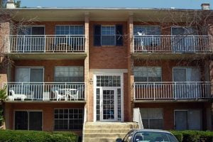 Courts of Mount Vernon apartments in Alexandria VA with windows completed by Acadia Windows and Doors.